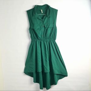 Truth High Low Collared Dress SZ L